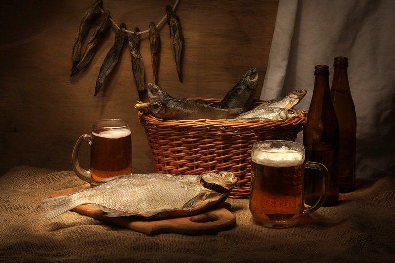 Рыбка и пивоphoto preview