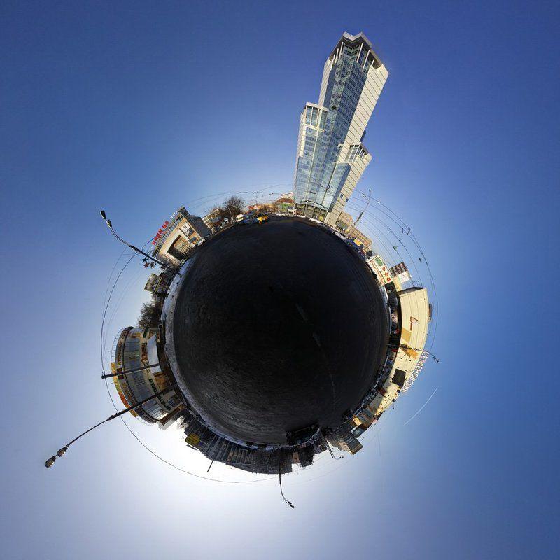 москва, панорама Семеновская площадьphoto preview