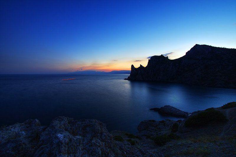 новый свет, закат, крым Вечерний Новый Светphoto preview
