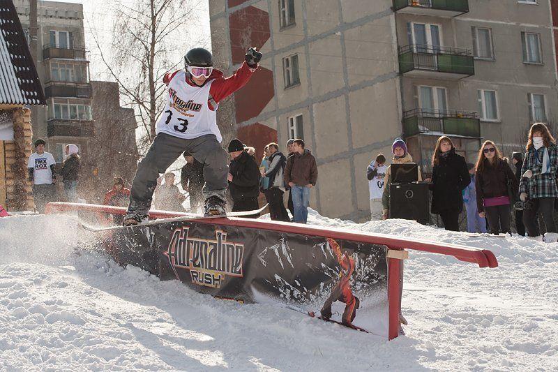 спорт, snowboard, extreme Snowboard Contest - Прощай зимаphoto preview