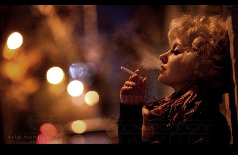 стрит, ночной портрет, город, улица, фонари photo preview