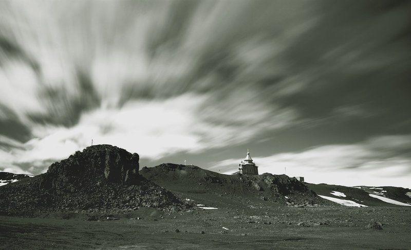 антарктика, беллинсгаузен, самый южный храм, ir, ик ***photo preview