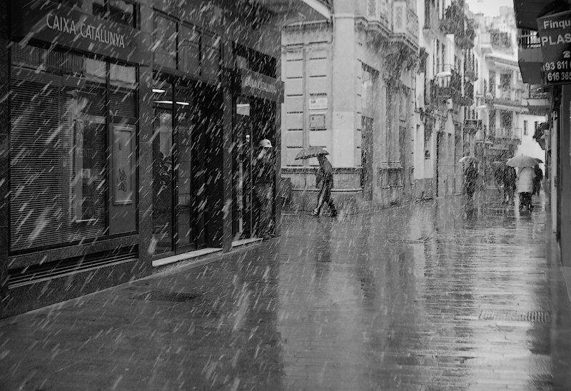 снег, 8 марта, В Барселоне зима...photo preview