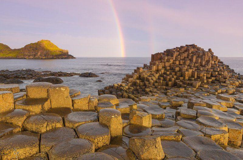 фототур, ирландия, северная, рассвет, тропа, великана, радуга Рассвет на Тропе Великанаphoto preview