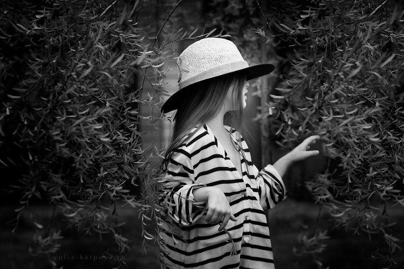 portrait, girl, summertime ***photo preview