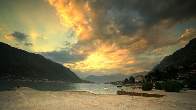 Горы пейзаж Черногория photo preview