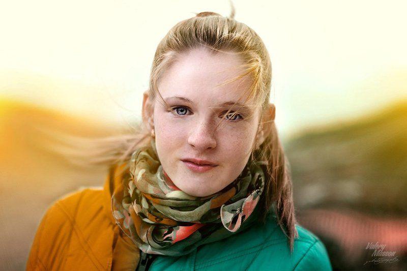 девушка, осень Настяphoto preview