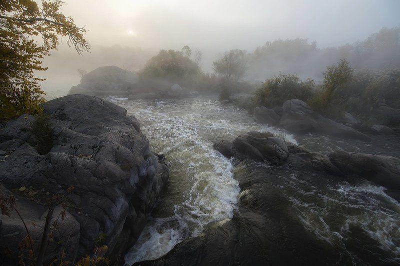 Река. Пороги. Большие пороги Южного Буга.photo preview
