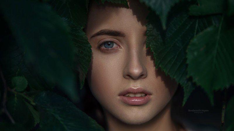 девушка, портрет, глаза, взгляд Оляphoto preview
