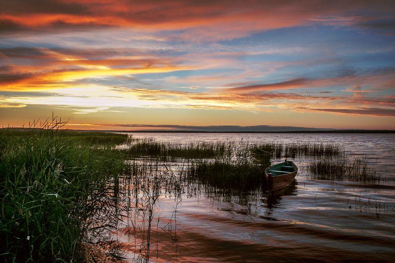 Закат в Переславлеphoto preview