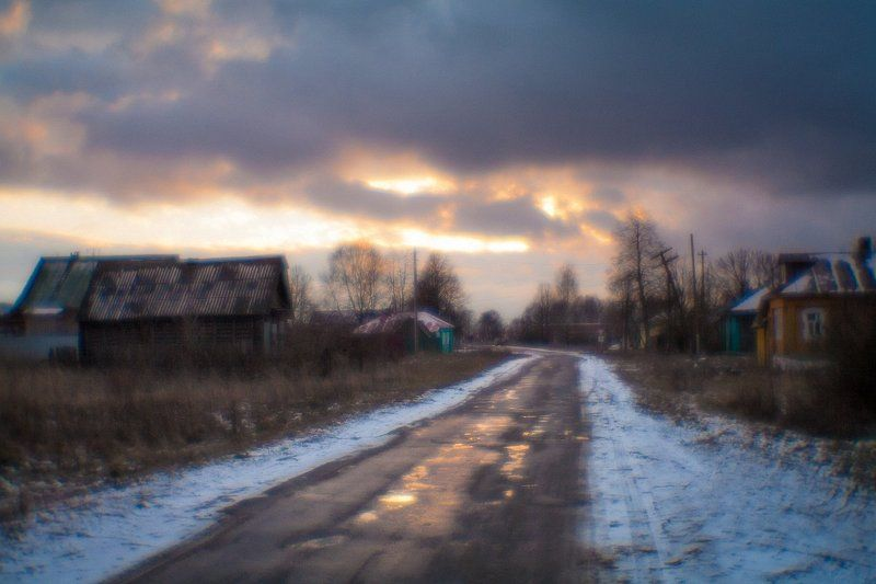 фото, монокль, пиктореализм, Касимов, Погост, monolens, Зитев, природа, закат Розовый вечер.photo preview