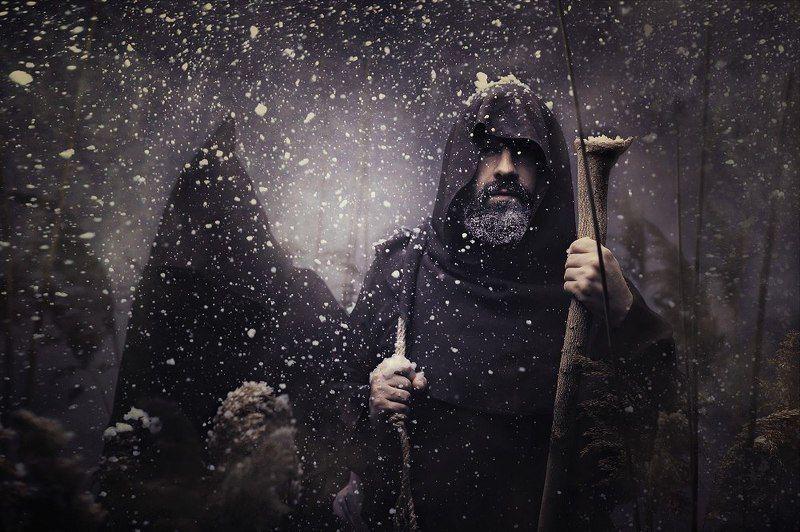 Жанровый портрет Монах с послушникомphoto preview