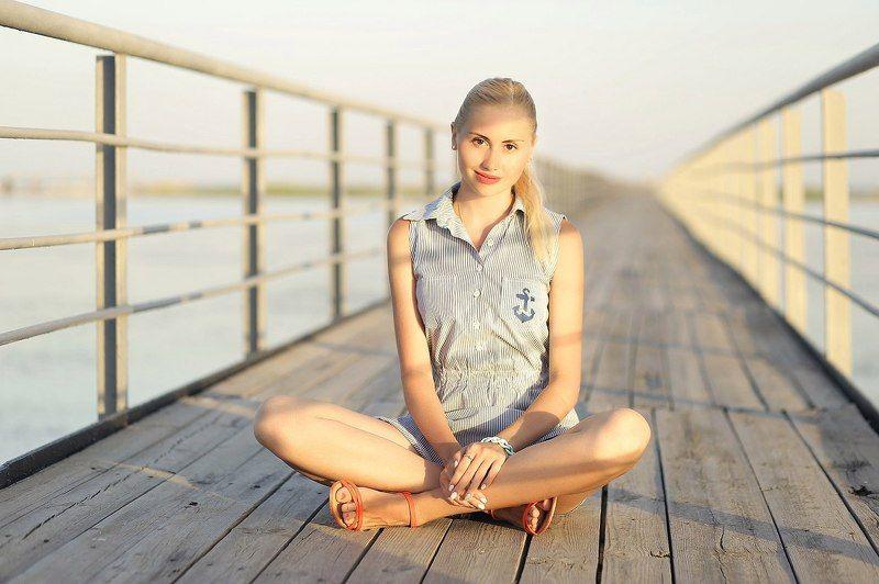 Портрет, Море, Лето, Пляж Летнее настроениеphoto preview