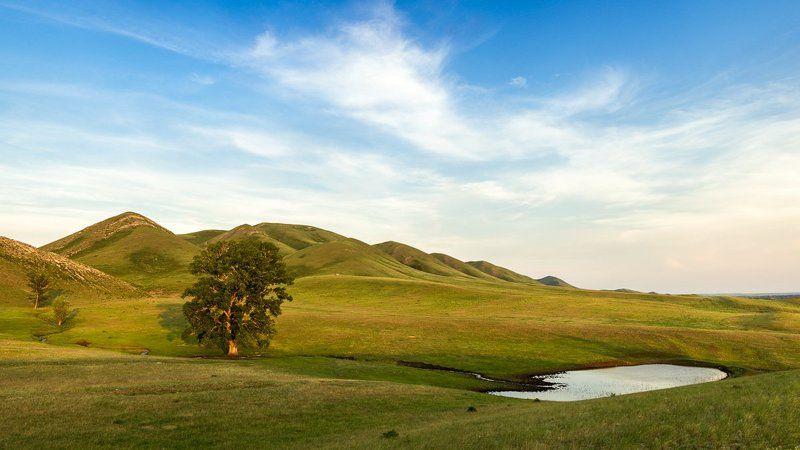 Южный Урал, Долгие горы Весна в Долгих горахphoto preview