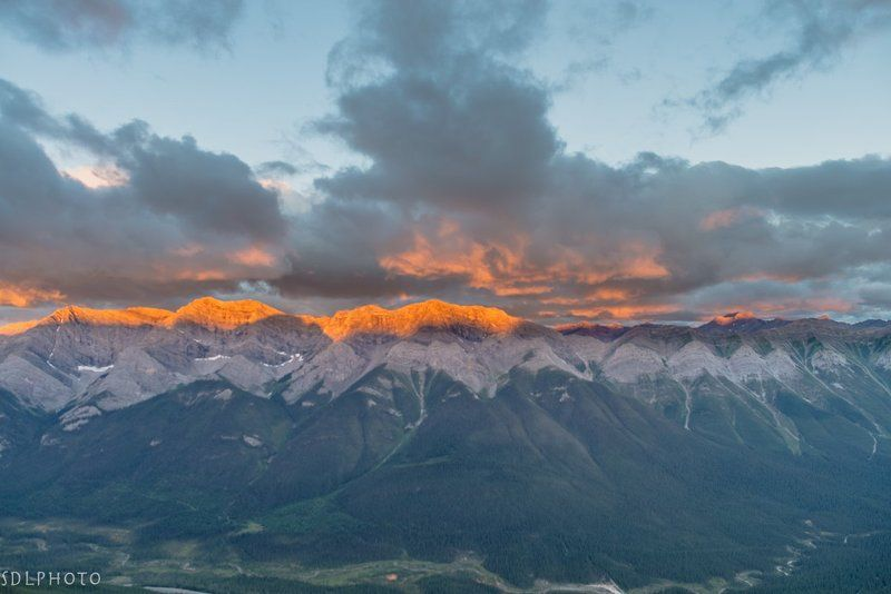 canada, alberta, kananaskis, canmore, rockies, mountains, sunrise Горный рассветphoto preview
