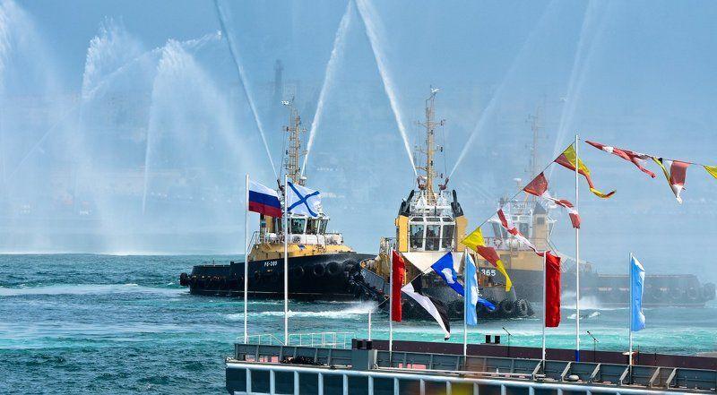 парад, вмф, севастополь, корабли Парад ВМФ в Севастополеphoto preview