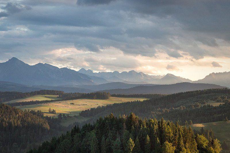 Высокие, Низкие, Пейзаж, Польша, Словакия, Татры Вид на Татрыphoto preview