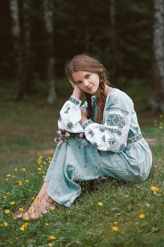 девушка, лето, портрет *photo preview