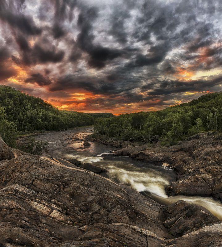 река Титовка Мурманская обл. июль 2016photo preview