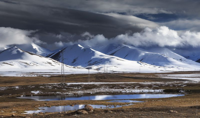 кыргызстан, киргизия, горы, плато Высокогорное плато Арабельphoto preview