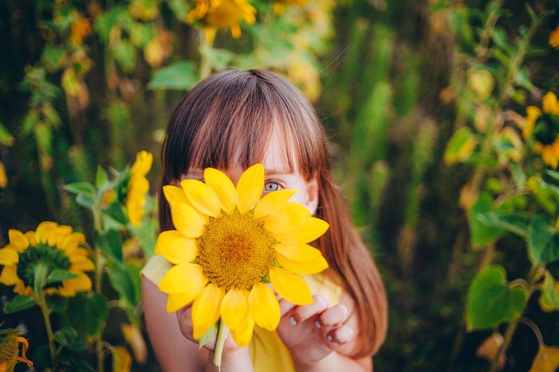 девушка За солнцемphoto preview