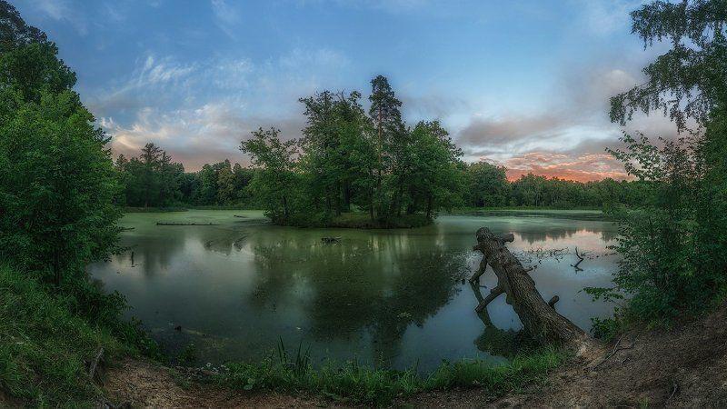 озеро москва подмосковье северный пруд Лесное озероphoto preview