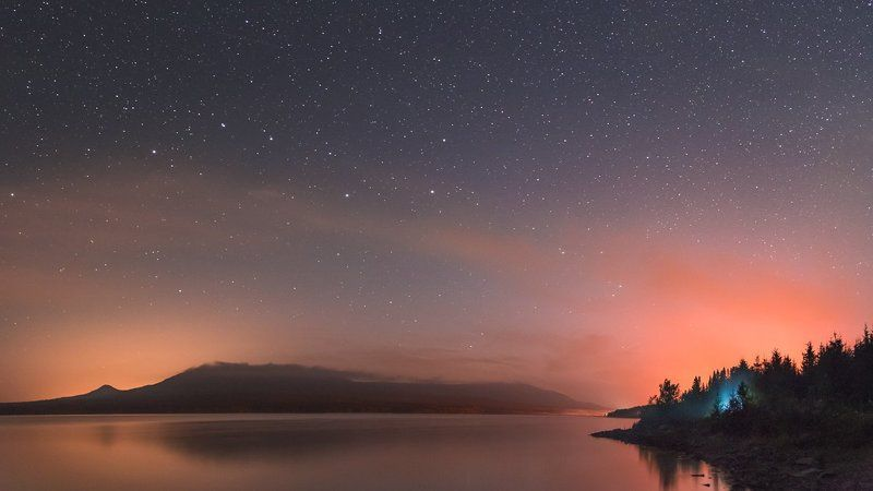 Южный Урал, Зюраткуль, АстроФото, Большая Медведица Медведи на Уралеphoto preview