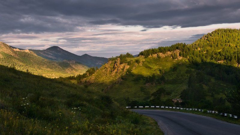 Баянаул, Горы, Облака, Рассвет photo preview