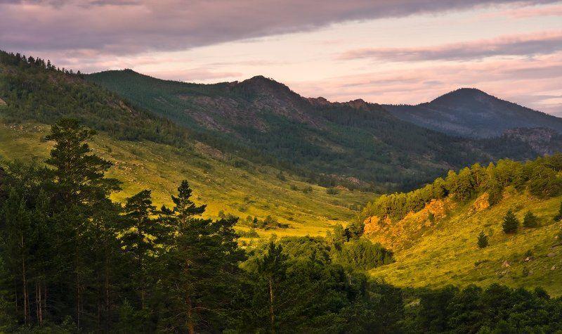 Баянаул, Горы, Рассвет Любуясь первыми лучамиphoto preview