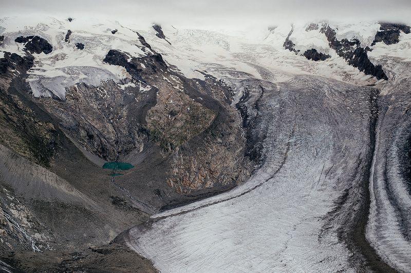 пейзаж, горы, ледник, озеро Не место для теплаphoto preview
