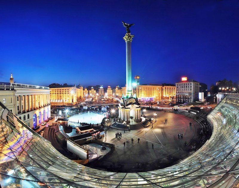 киев, майдан, панорама Майданphoto preview
