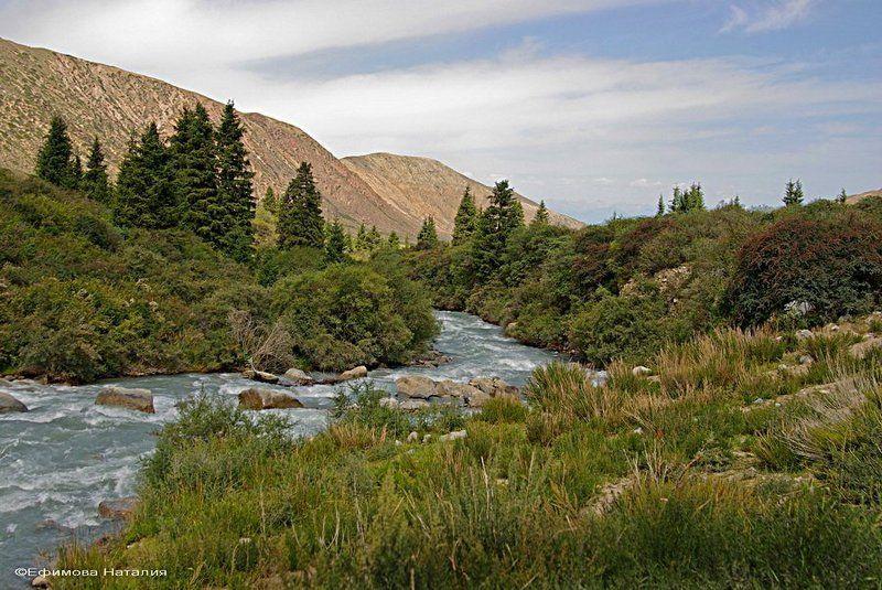 Долина реки Барскооун. Киргизияphoto preview
