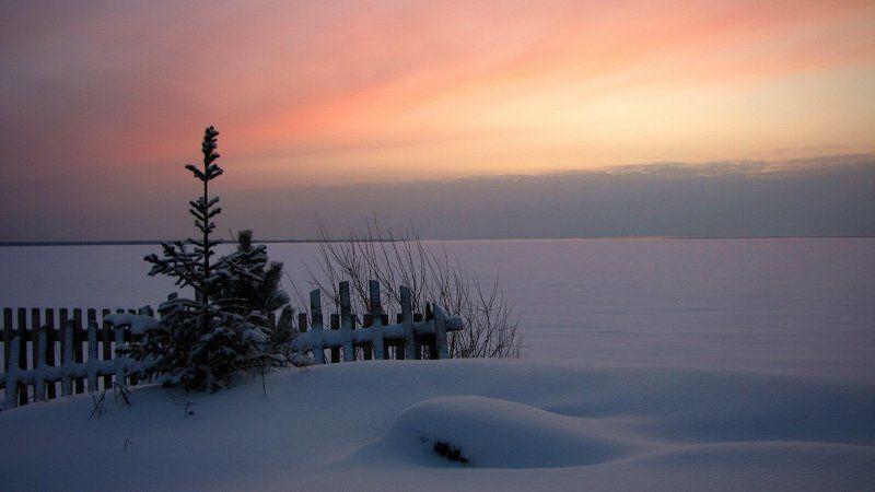 утро,мороз,озеро,карелия photo preview