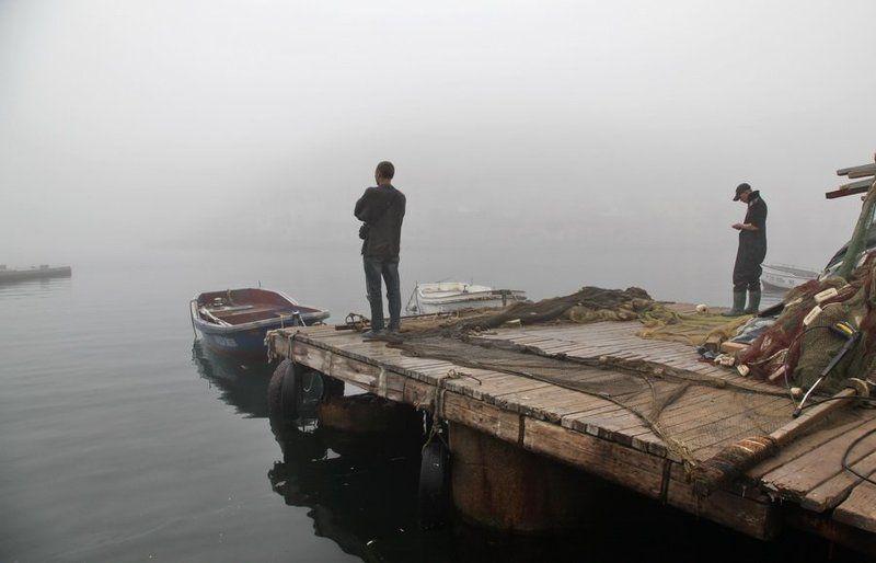 ожидание,туман у моря погоды....photo preview