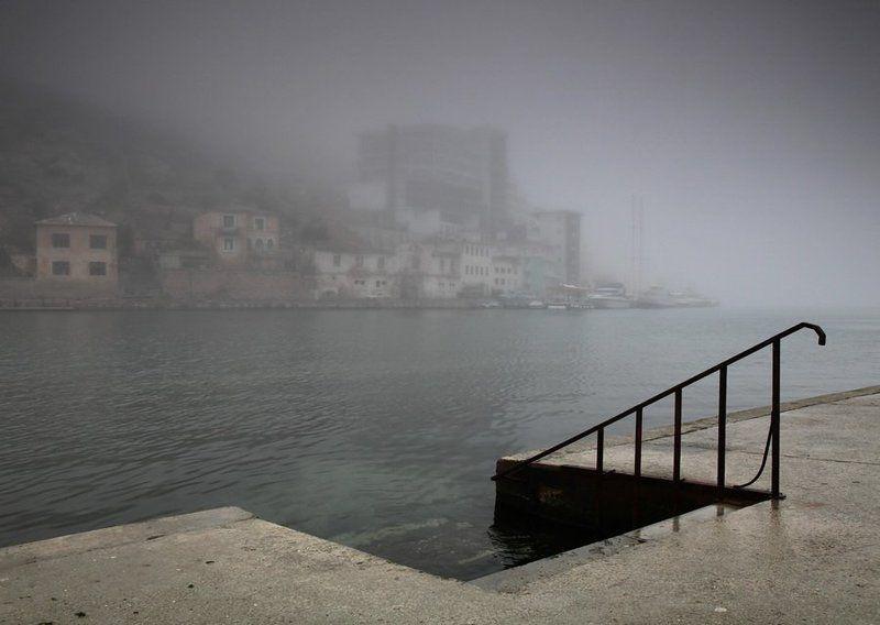 туман,балаклава утро Балаклавыphoto preview