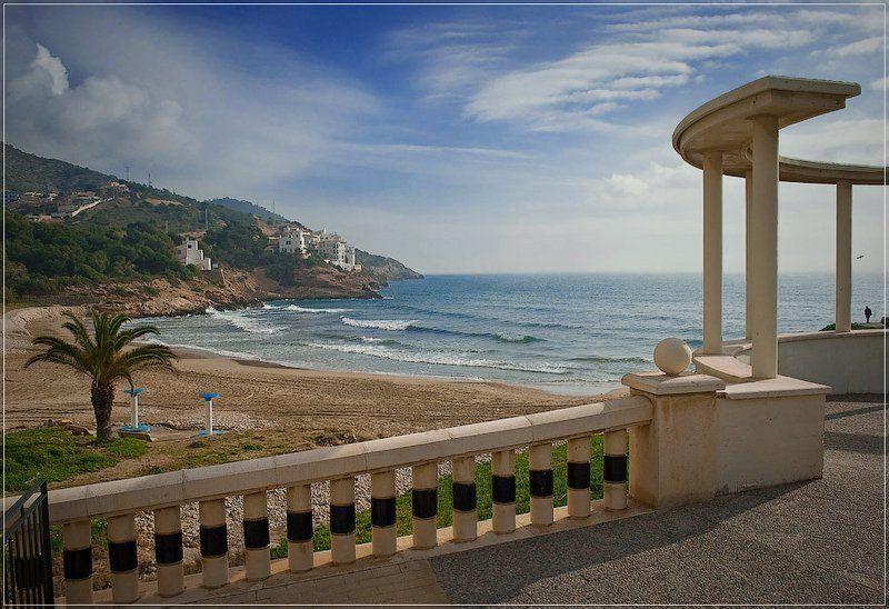 море, испания, пейзаж Aiguadol?  - сладкая вода.photo preview