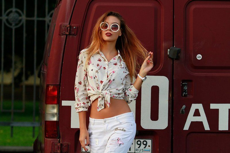 Liliyanazarova, model, fashion, Walking in the Streets | Liliya Nazarovaphoto preview