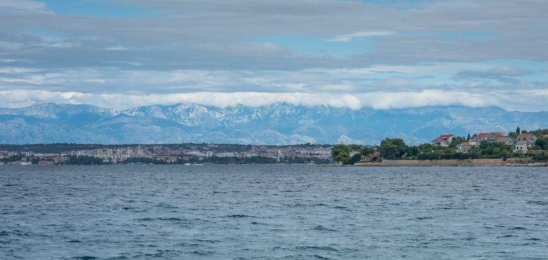 City, Clouds, Color, Croatia, Landscape, Light, Mountains, Nature, Sea, Sky, Travel, in Croatia..photo preview