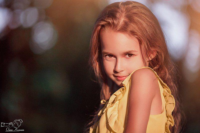 Взгляд, Девочка, Дети, Дети и осень, Детский взгляд, Дочка, Золотая осень, Осенний портрет, Осень, Портрет Еваphoto preview