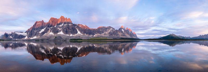 Canada, Alberta, Jasper, Tonquin, mountains Красные пики.photo preview