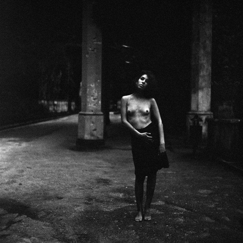 nu, nude, model, nature, film, analog, blackandwhite, пленка, чб, bw Portrait. 2016.photo preview