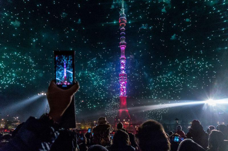 круг, света, кругсвета, останкино, вднх, москва, фейерверк, , sony, , башня, вышка, останкинская, lightfest, fireworks Фестиваль  света в Москвеphoto preview