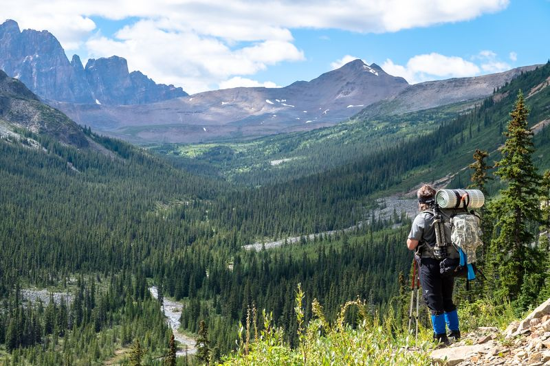 Canada, Alberta, Jasper, Tonquin, mountains В долину!photo preview