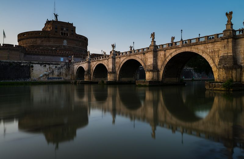 Bridge Italy Rome  Bridgephoto preview