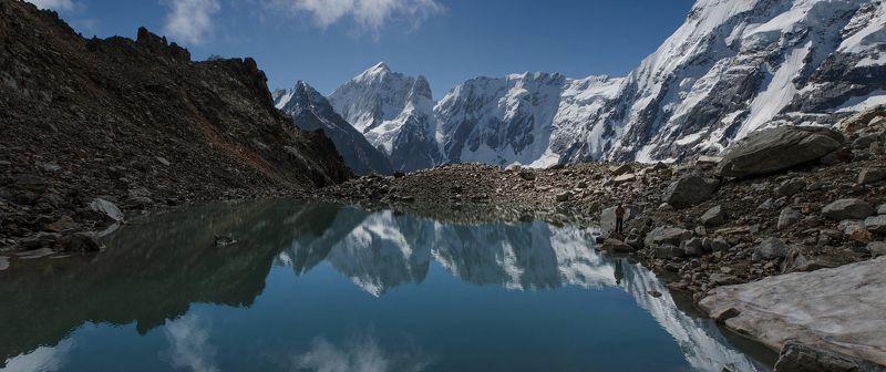 Горы Кавказ Безенги Курсантские ночевкиphoto preview