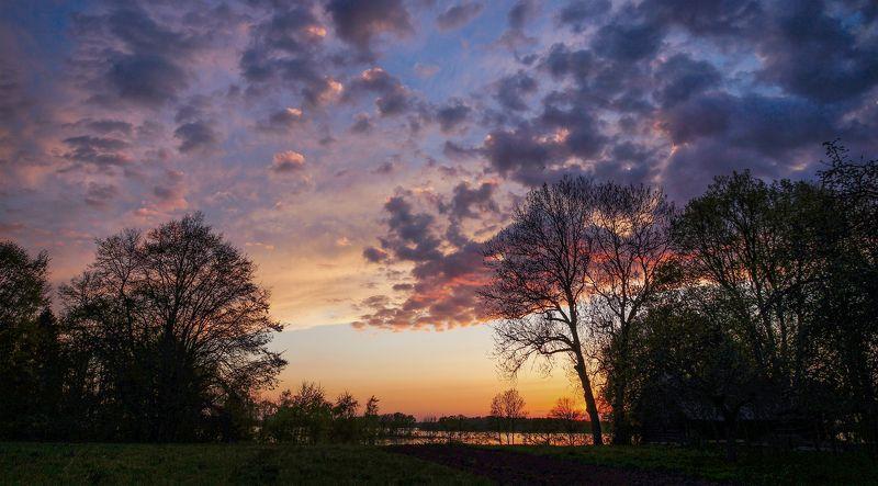 Вечер у озераphoto preview