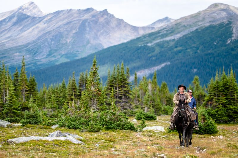 Canada, Alberta, Jasper, Tonquin, mountains Конныеphoto preview