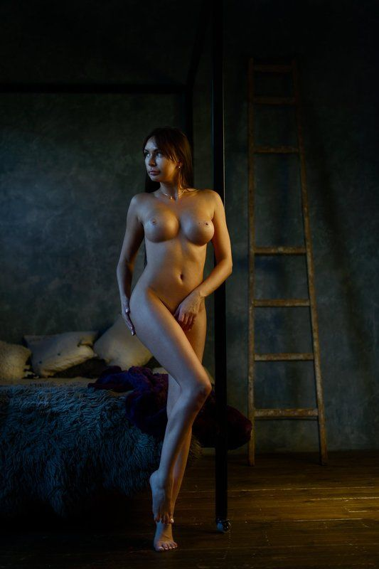 Alexandr Mukhin, Girl, Light, Mukhin, Nude, Studio, Ню, Ню.обнаженная натура *photo preview