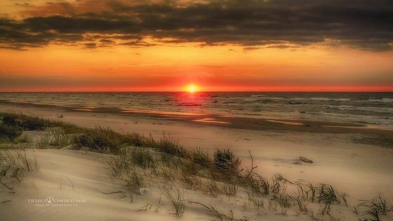 landscape, sunset, scenery, Baltic Sea, rpowroznik the point...photo preview