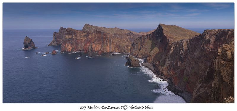 Cape St.Laurence, Мадейра, Мыс Святого Лаврентия Madeira.Cape St. Laurence.photo preview